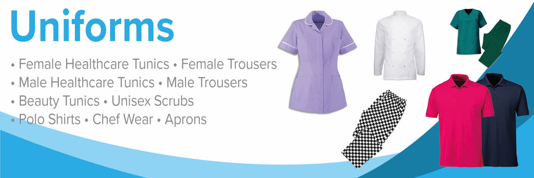 6a4a107d7dd ... care, beauty salons, hair dressing chef wear and many more. All of our  uniforms are from Alexandra, a leading provider of workwear, corporate  clothing ...